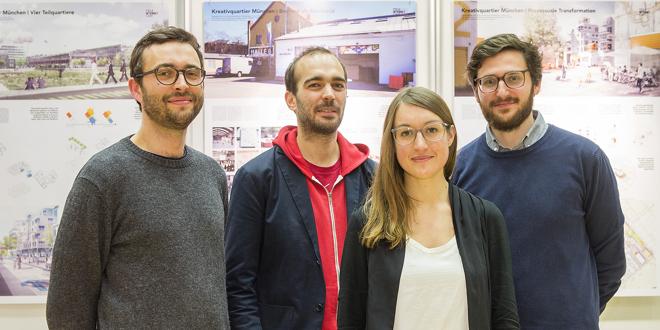 Landschaftsarchitektur München architektur teleinternetcafe treibhaus gewinnen deubau preis 2016