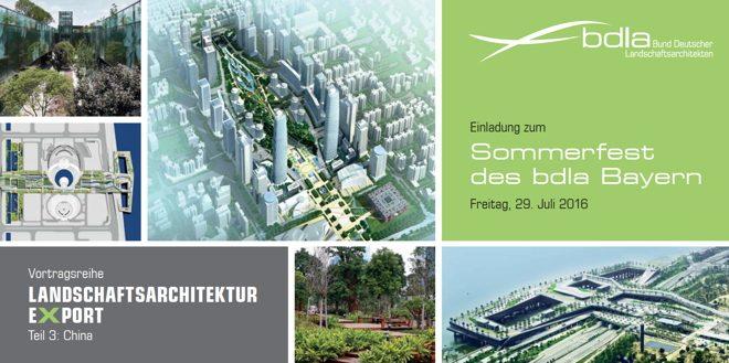 Landschaftsarchitektur München vortragsreihe landschaftsarchitektur export china münchen 29