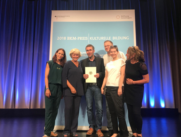 Preisverleihung BKM Preis Kulturelle Bildung 2018